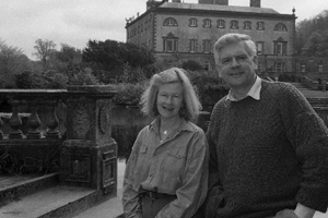 Jeremy & Jennifer, 11th and present Marquess and Marchioness of Sligo, 1973