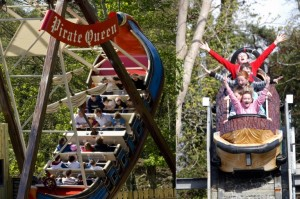 The ideal family day out for kids under twelve - the Pirate Adventure Park at Westport House