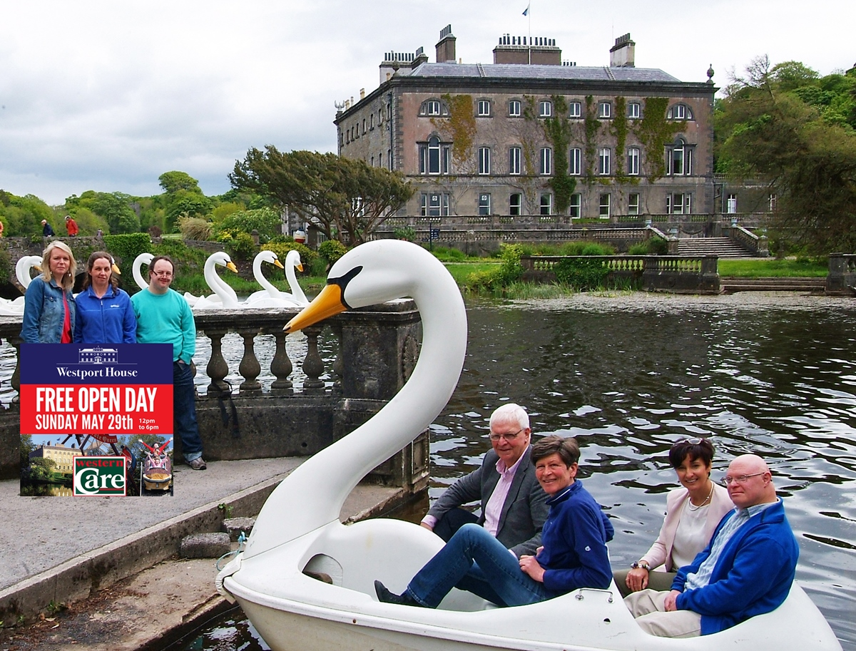 Free open day at westport house in aid of western care for The westport