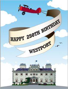 Happy #Westport250 from Westport House