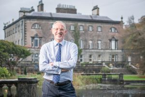 08/11/2017 Tim Husbands MBE who has been appointed as Chief Executive Officer for Westport House and Hotel Westport . Photo : Keith Heneghan
