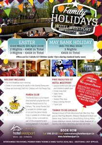 Easter & May Bank Holiday Family Flyer 2018