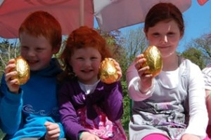 Easter Eggs at Westport House