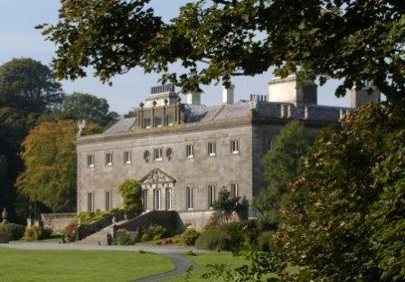 Westport House - view from river