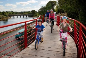 The Great Western Greenway offers a safe, off-road cycling experience - and flat too!