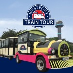 Sight-seeing novelty train tour of the beautiful heritage town of Westport.