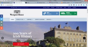 Westport House Website