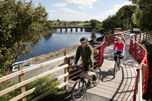 The Great Western Greenway - Westport House is less than .5km from the start.