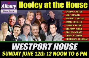 Hooley at the House 12x8 2016