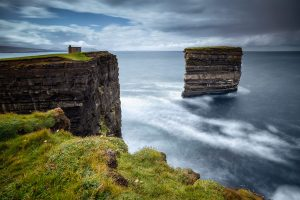 Downpatrick Head beside Ceide Fields in North Mayo