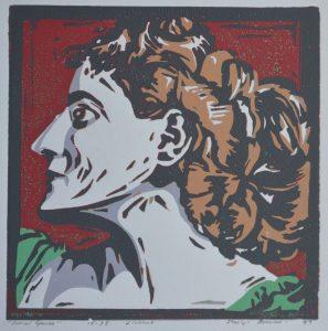 Final print of Maud Gonne.