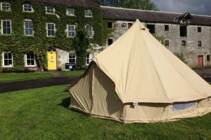 Camping and caravanning at Westport House is peaceful and calming
