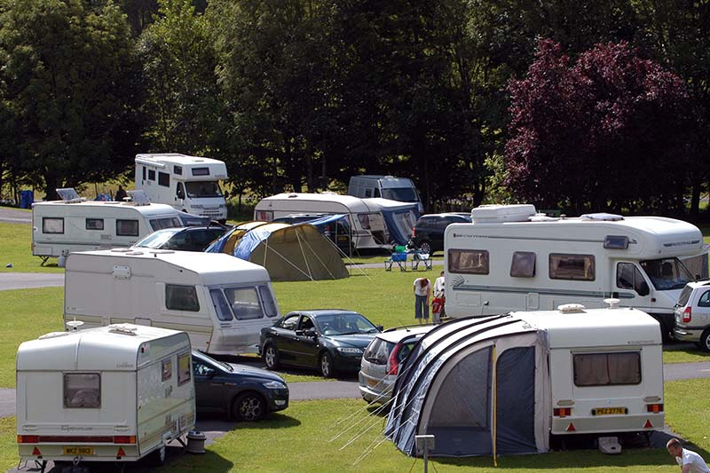 Westport House Caravan & Camping Park is a popular choice for families