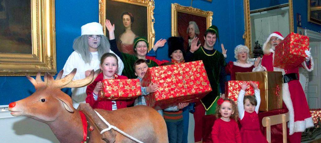 Mr & Mrs Claus & their helpers kick off the Westport House Winter Wonderland extravaganza!