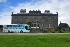 The Harvest Bus visited Westport on Saturday 29th July to celebrate the line up details being released.